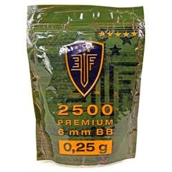 Umarex Elite Force Bolas Airsoft 0.25g Bolsa 2500 ud.