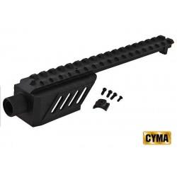 Cyma Airsoft rail táctico para AEP CM30 - Glock 18 - Desert
