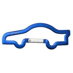 Llavero Mosquetón coche azul