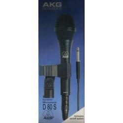 Micrófono dinámico AKG D 80 S